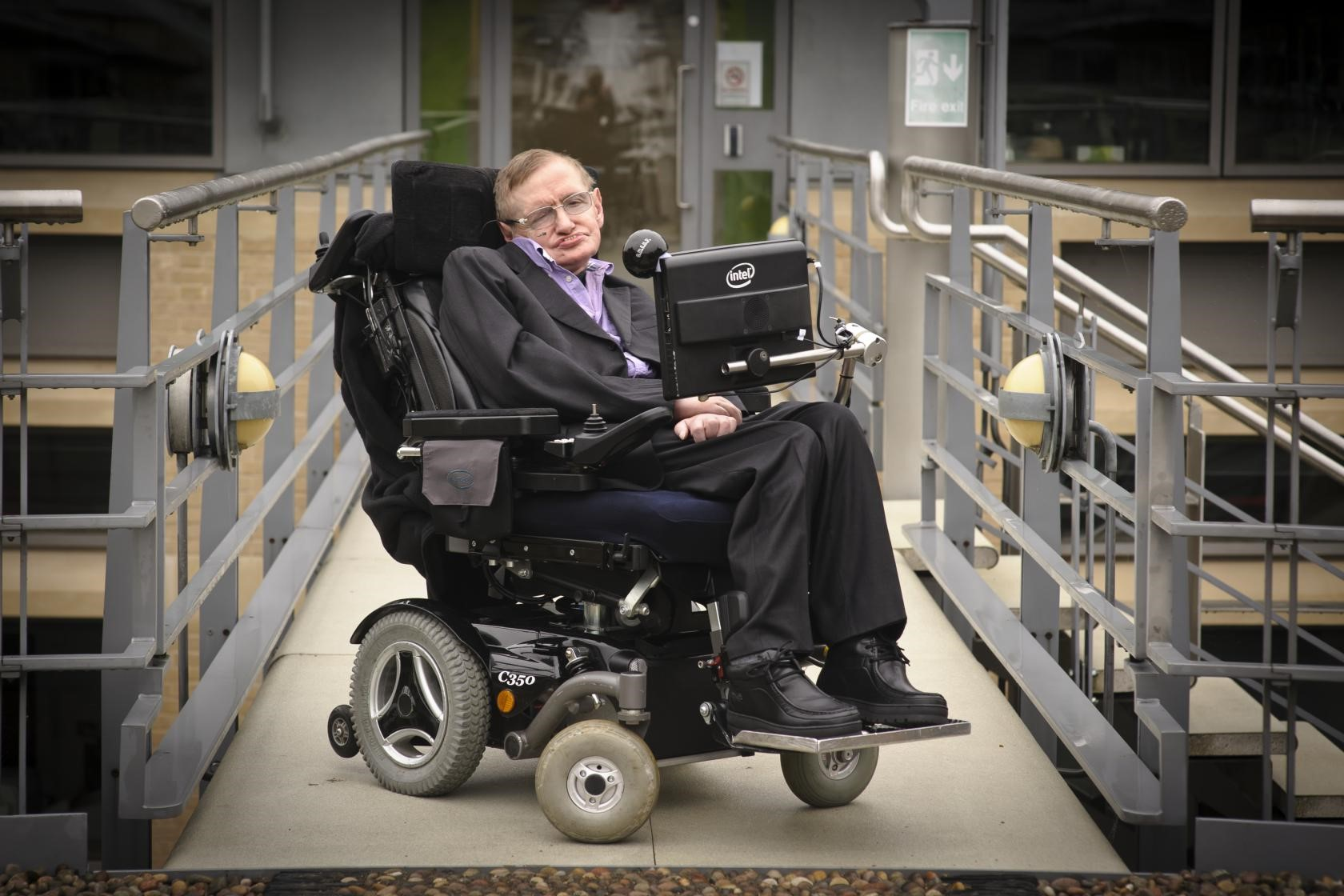 Stephen Hawking's Wheelchair